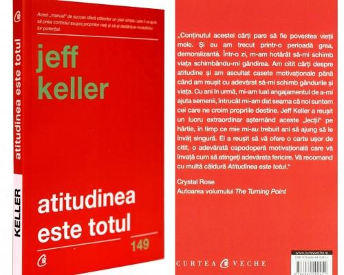 """Recenzie - """"Atitudinea este totul"""" – Jeff Keller"""