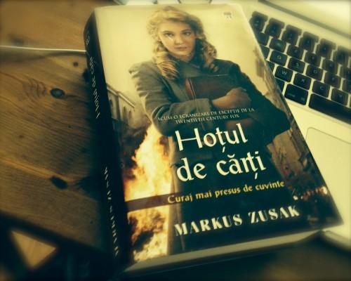 """Recenzie - """"Hotul de carti"""", de Markus Zusak"""