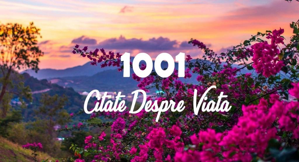 1001 Citate despre viata - Sursa ta de inspiratie si motivatie
