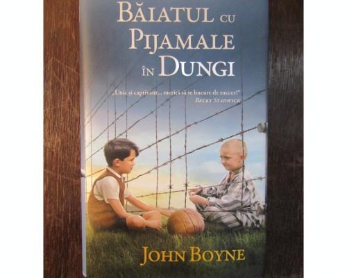 Recenzie - Baiatul cu pijamale in dungi - John Boyne