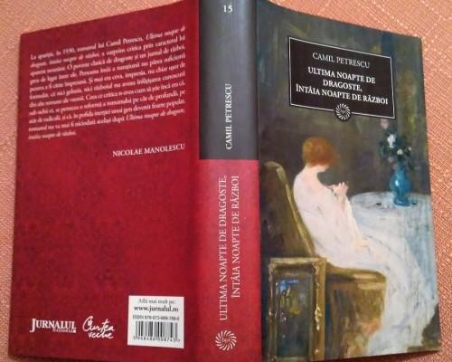 Rezumat - Ultima noapte de dragoste intaia noapte de razboi - Camil Petrescu